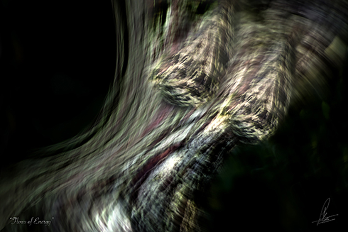 FLOWS OF ENERGY Photographic art by Loek van Walsem